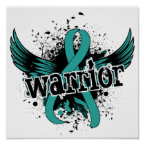 Warrior 16 Ovarian Cancer Poster