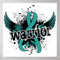 Warrior 16 Ovarian Cancer Poster