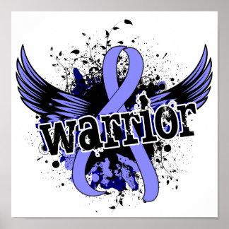 Warrior 16 Prostate Cancer Poster
