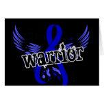 Warrior 16 Rectal Cancer Greeting Card