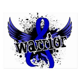 Warrior 16 Rectal Cancer Postcard