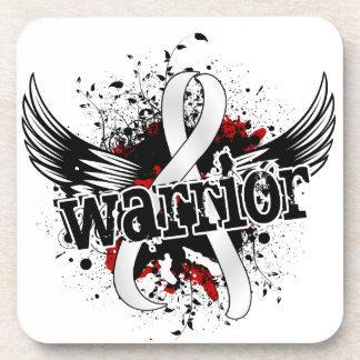 Warrior 16 Retinoblastoma Beverage Coasters