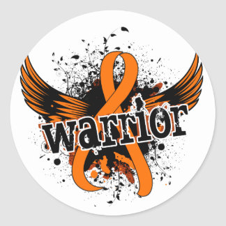 Warrior 16 RSD Classic Round Sticker