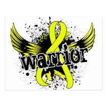 Warrior 16 Sarcoma Postcard