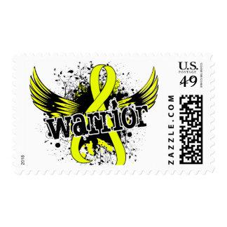 Warrior 16 Testicular Cancer Postage