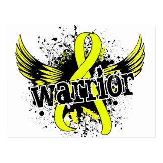 Warrior 16 Testicular Cancer Postcard