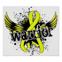 Warrior 16 Testicular Cancer Poster