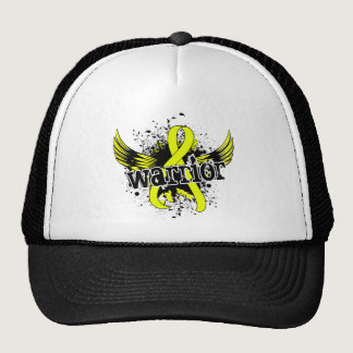 Warrior 16 Testicular Cancer Trucker Hat