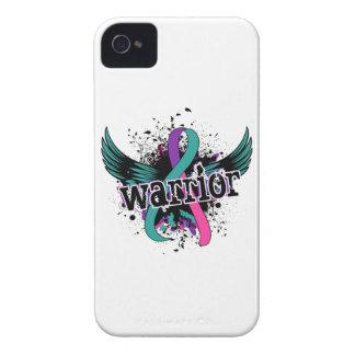 Warrior 16 Thyroid Cancer Blackberry Cases