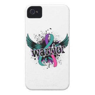 Warrior 16 Thyroid Cancer iPhone 4 Case-Mate Case
