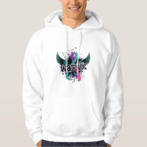 Warrior 16 Thyroid Cancer Hoodie