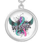 Warrior 16 Thyroid Cancer Necklaces