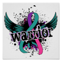 Warrior 16 Thyroid Cancer Poster