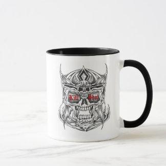 Warrior and creed mug