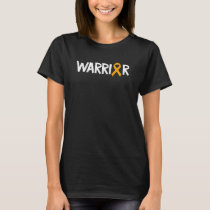 Warrior Appendix Cancer Support Patients T-Shirt