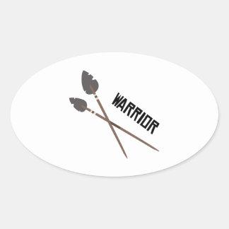 Warrior Arrows Stickers