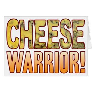 Warrior Blue Cheese Card