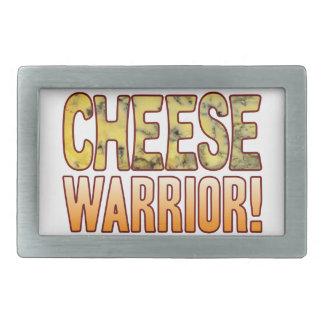 Warrior Blue Cheese Rectangular Belt Buckle