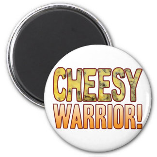 Warrior Blue Cheesy Magnet