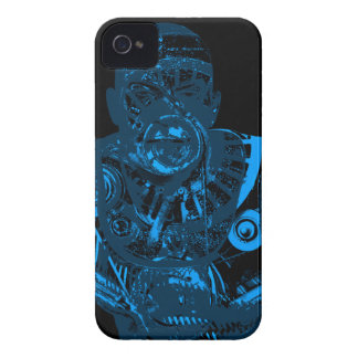 Warrior - Blue iPhone 4 Case