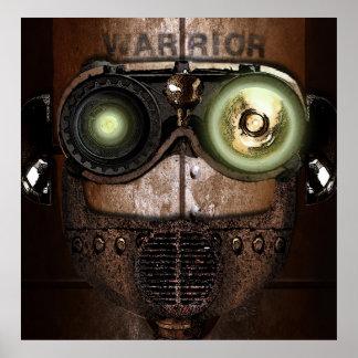 Warrior Bot Posters
