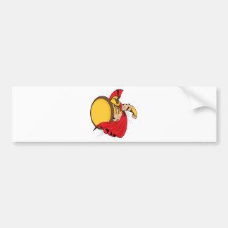 Warrior Bumper Sticker