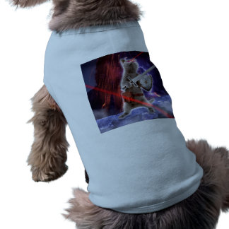warrior cats - knight cat - cat laser shirt