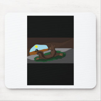 Warrior cats mouse pad