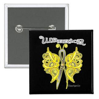 Warrior Celtic Butterfly - Testicular Cancer Pins