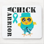Warrior Chick Ovarian Cancer Mouse Pad