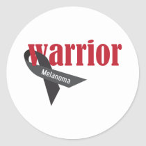 Warrior Classic Round Sticker