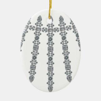 Warrior Collar Ceramic Ornament