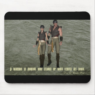 Warrior Creed 001 Mouse Pad