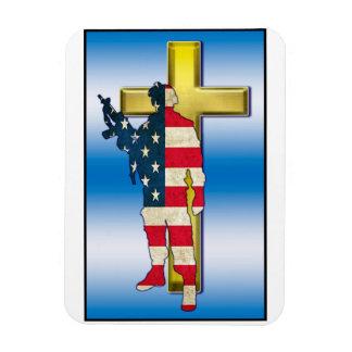 Warrior Cross #1 Magnet