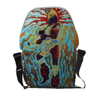 Warrior dancer - Dancer Backpack Courier Bag