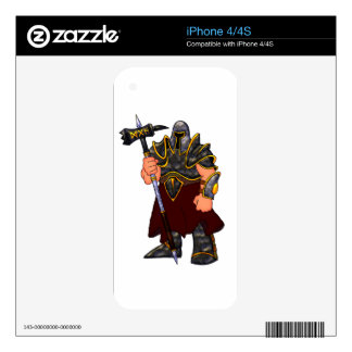 Warrior Decals For The iPhone 4S