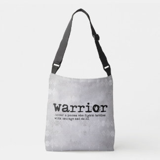 Warrior Definition Crossbody Bag