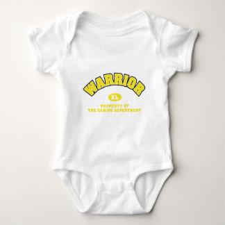 Warrior Department Baby Bodysuit