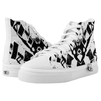 Warrior Dignitary High-Top Sneakers