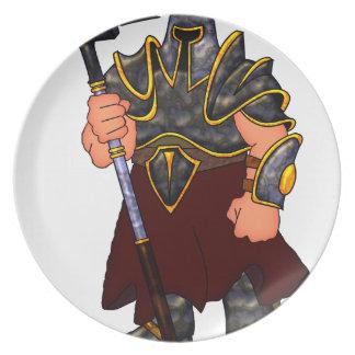 Warrior Dinner Plate