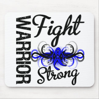 Warrior Fight Strong Colon Cancer Mouse Pad