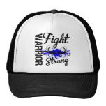 Warrior Fight Strong Colon Cancer Trucker Hat