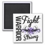 Warrior Fight Strong General Cancer Fridge Magnets