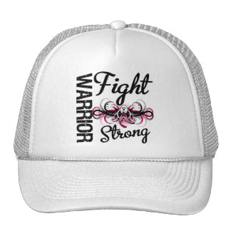 Warrior Fight Strong Head and Neck Cancer Mesh Hats