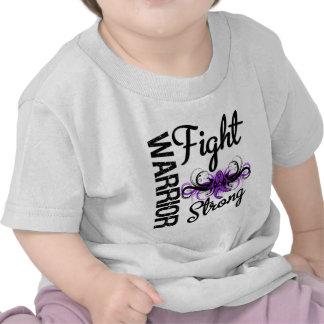 Warrior Fight Strong Pancreatic Cancer Tee Shirt