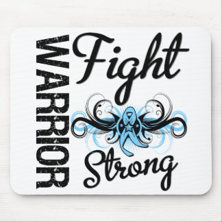 Warrior Fight Strong Prostate Cancer Mouse Pad