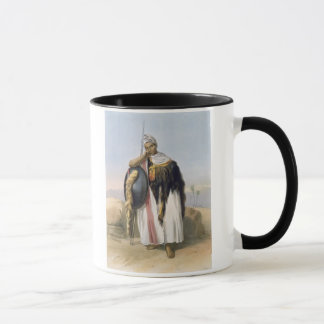 Warrior from Amhara, Ethiopia, illustration from ' Mug