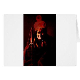 Warrior Geronimo Card