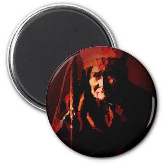Warrior Geronimo Magnet
