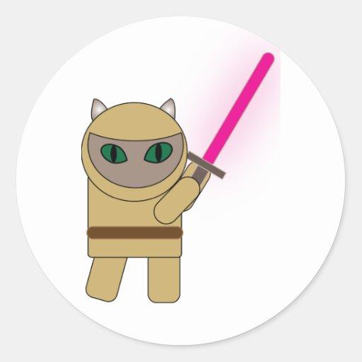 Warrior Kitty Sticker